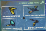 Buzz Wings mods 1