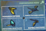 Buzz Wings mods 1