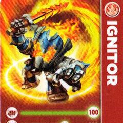 Carta de Ignitor serie 1