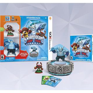 Pack de inicio de la versión 3DS, incluyendo a <a href=
