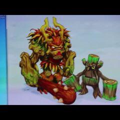 Antiguo concepto de Tree Rex 3
