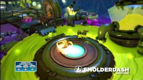 Meet the Skylanders - LightCore Smolder Dash (Official Swap Force Trailer)