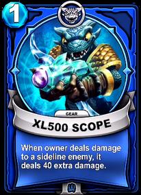 XL500 Scope - Gearcard