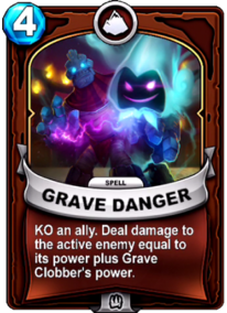 Grave Dangercard