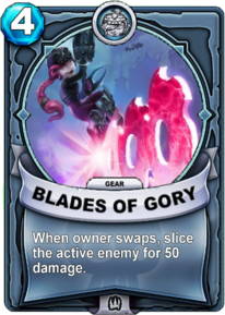 Blades of Gory - Engranecard