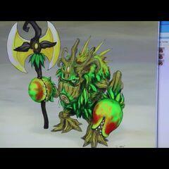 Antiguo concepto de Tree Rex