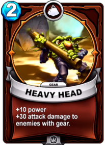 Heavy Head - Gearcard