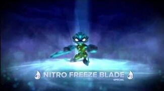 Meet the Skylanders Nitro Freeze Blade