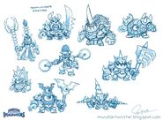 Doomlander Sketches by Jeff Murchie