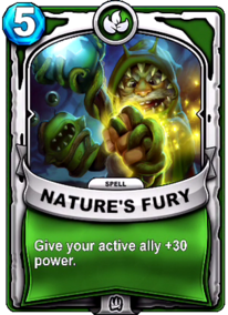 Nature's Furycard