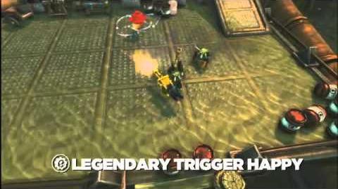 Skylanders Spyro's Adventure - Legendary Trigger Happy Preview Trailer