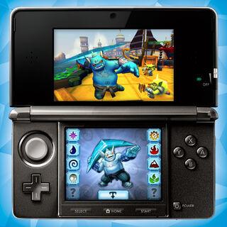 Jugabilidad de la versión 3DS