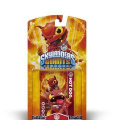 Hot Dog serie 1 en su paquete