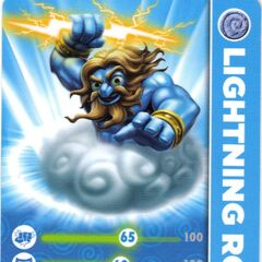 Carta de Lightning Rod serie 1