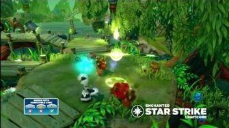 Meet the Skylanders LightCore Enchanted Star Strike