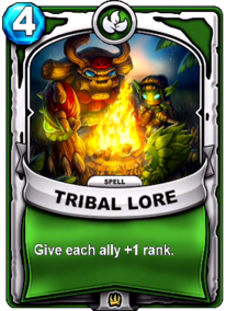Tribal Lorecard
