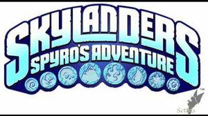 Skylanders Spyro's Adventure Soundtrack-Title Screen