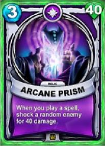 Arcane Prism - Relíquiacard