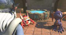 Spyro y Trigger Happy 2