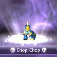 Chop Chop entrando al portal en Spyro's Adventure