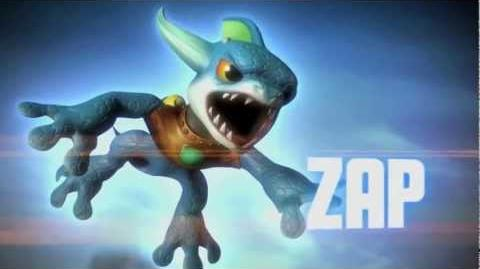 Skylanders Spyro's Adventure - Zap Trailer (Ride the Lightning)-0