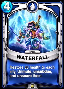 Waterfallcard