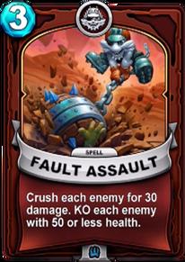Fault Assaultcard