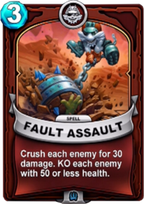 Fault Assaultcard