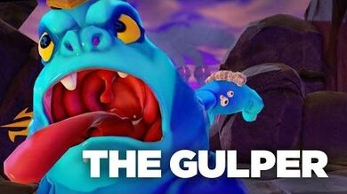 "Official Skylanders Trap Team- ""Meet the Villains- Gulper"" Trailer"