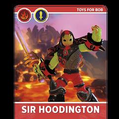 Carta personalizada de Sir Hoodington