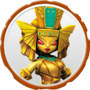 Golden Queen Villain Icon