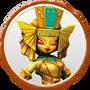 Golden Queen Villain Icon