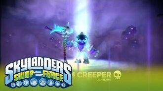 Meet the Skylanders LightCore Grim Creeper l SWAP Force l Skylanders