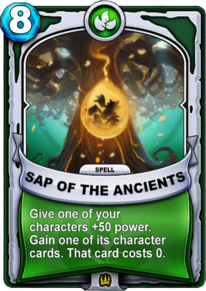Sap of the Ancientscard