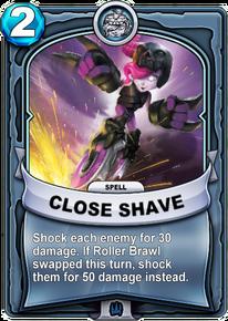 Close Shavecard