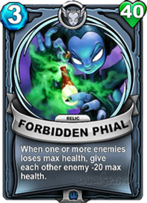 Forbidden Phial - Reliccard