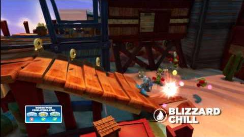 Meet the Skylanders Blizzard Chill