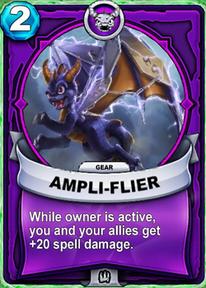 Ampli-flier - Gearcard