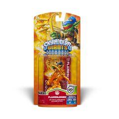 Extraña figura dorada de flameslinger