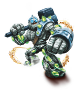 Crusher Transparent Render