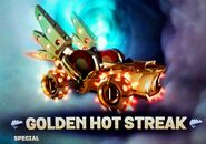 Golden Hot Streak Supercharged