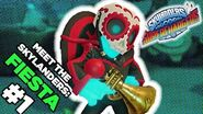 Meet the Skylanders Fiesta and Crypt Crusher