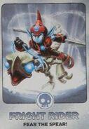 Fright Rider Card