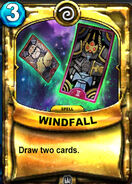 Windfall Animated Card