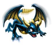 Legendary Spyro Transparent Render