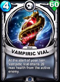 Vampiric Vial - Reliquiacard
