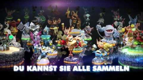 Skylanders Giants Game and Features Trailer (Deutsch German)