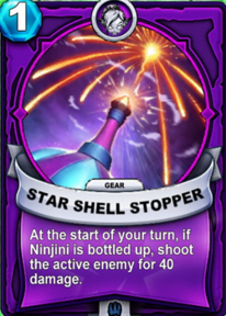 Star Shell Stopper - Gearcard