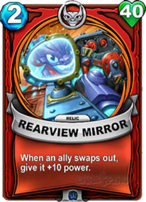 Rearview Mirror - Reliquiacard