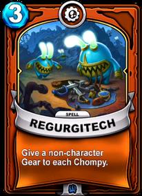 Regurgitechcard